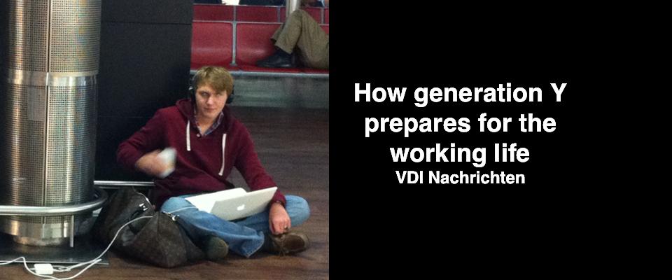 how gen Y prepares